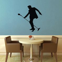 Elvis Silhouette Wall Decal