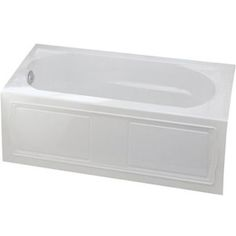 "Kohler K1184-LA-0 Devonshire 60"" Soaking Tub - White $652"