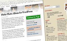 plugins de wordpress para gestion de imagenes 5flickrphotoalbum