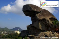 #TOAD_ROCK The mascot of Mount Abu, that is how lovingly the Toad Rock could be pithily portrayed! Perched over a hill, directly overlooking the love lake Nakki, it is one of the most frequented point in the itinerary of all visitors, more so of those from overseas.   Visit Toad Rock with Best #Rajasthan_Package at Rs. 11900