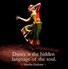 Dance is the hidden language of the Soul ༺♡༻ martha graham . . WILD WOMAN SISTERHOOD™ #wildwomansisterhood #dance