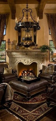 If you are having difficulty making a decision about a home decorating theme, tuscan style is a great home decorating idea. Many homeowners are attracted to the tuscan style because it combines sub… Tuscan Decorating, Interior Decorating, Interior Design, Interior Plants, Tuscany Decor, World Decor, Tuscan House, Mediterranean Home Decor, Old World Style