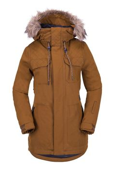 Get out on the slopes with Volcom's essential collection of insulated snowboard and ski jackets for women! Find slim, regular, and long cut styles. Womens Snowboard Jacket, Snowboarding Outfit, Jackets For Women, Clothes For Women, Winter Outfits, Winter Clothes, Winter Fashion, Fashion 2016, Mens Fashion