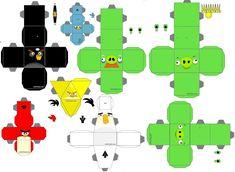 moldes angry birds para imprimir - Pesquisa Google