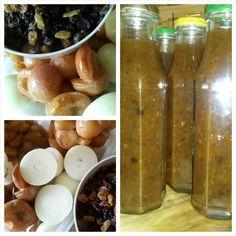 Apricot and sultana chutney Chutney, Potatoes, Vegetables, Sweet, Food, Candy, Potato, Veggie Food, Vegetable Recipes