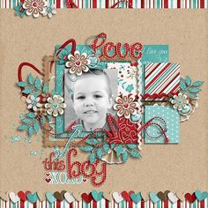 JDS-Love-This-Boy-700x700 scrapbook page layout: