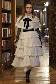 CD as Hester Prynne? Chanel Pre-Fall 2015 Runway – Vogue