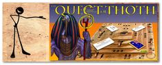 This is an incredible new educational game for all ages, by the new company, Gamz4Skoolz.  The Quest of Thoth.  Brilliant.