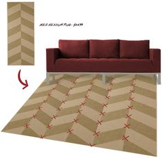 Solution for carpeted dining room in my apartment? maaaaaybe!