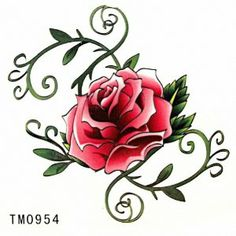 Taobaopit Red Rose Temporary Tattoo Waterproof Body Tattoo Sticker(20 pcs/lot) by Taobaopit. $5.88. * Recommended Ages 9 to adult. WARNING: CHOKING HAZARD -- Small parts. Not for children under 3 yrs.. * 100% waterproof and can last up to 7 days.. * Easy on and off, they can be removed with baby oil or rubbing alcohol.. * Looks real  seamless. * Unisex and one size fits most.. Gender : Unisex Dimensions : 6cm*6cm (Packing Size:7cm*9cm)