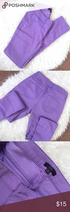 Pastel Purple Pants by Fire Los Angeles Pastel Purple pants by Fire Los Angeles. Excellent condition, used once. It just doesn't fit me anymore. Skinny pants, true size 3. Fire Los Angeles Pants Skinny