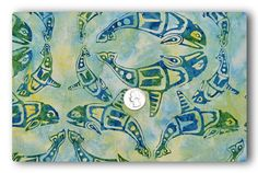Batik Tribal Whale  Fabric By The Yard by TheFabricFox on Etsy, $8.95