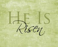 He is Risen printable.  I'm hanging these around our house tomorrow.  Best message ever.