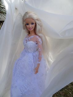Barbie bridal dresses 1..6 qw