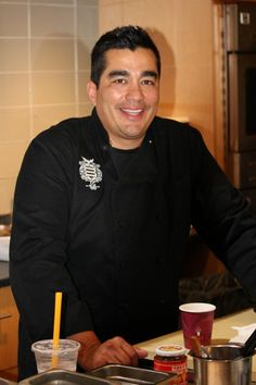 "Chef Jose Garces debuts recipes from his cookbook ""The Latin Road Home"" at the Institute of Culinary Education"