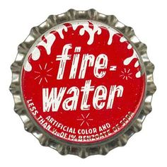 Fire Water bottle cap