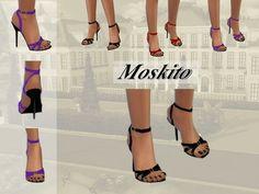 High Heels 011 by Moskito at TSR via Sims 4 Updates