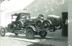 An early purpose built transporter.