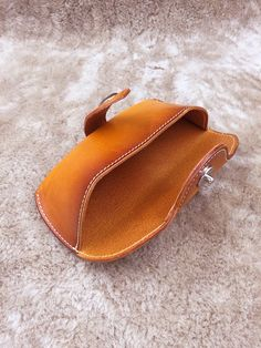Your place to buy and sell all things handmade Leather Gifts, Leather Craft, Leather Pouch, Handmade Leather, Leather Glasses Case, Leather Projects, Leather Cover, Leather Working, Vintage Leather