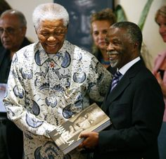 With Thabo Mbeki