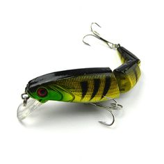Crankbait Hard Bait Tight Wobble Slow Floating Jerkbait Lifelike RealSkin Painting Fishing Lure JM001