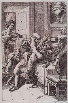 Danse Macabre - alcoholism