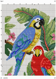 images attach c 10 110 468 Cross Stitch Bird, Beaded Cross Stitch, Cross Stitch Animals, Cross Stitch Flowers, Cross Stitch Charts, Cross Stitch Designs, Cross Stitching, Cross Stitch Embroidery, Embroidery Patterns