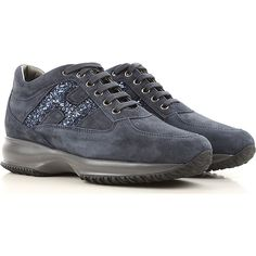 Hogan Shoes and Sneakers from the Latest Collection. Hogan Women's Shoes are available online in a wide selection at the Raffaello Network Store. Fashion Details, Fashion Design, Suede Leather, Lace Up, Sneakers, Shoes, Women, Style, Tennis