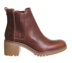 Buy Cognac Forty Leather Timberland Averly Chelsea Boots from OFFICE.co.uk.