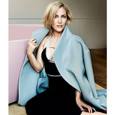 Our favourite TV detective Gillian Anderson talks Jamie Dornan and her BBC show The Fall. redonline.co.uk