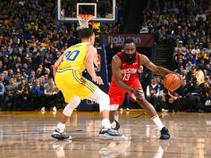 James Harden of the Houston Rockets handles the ball against the Golden State Warriors on January 3 2019 at ORACLE Arena in Oakland California NOTE. Fiba Basketball, Gregg Popovich, Oracle Arena, Oakland California, James Harden, Western Conference, Nba Champions, Houston Rockets