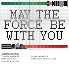 "Star Wars ""May the force be with you"""