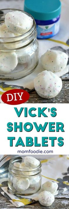 DIY Vicks Shower Tab