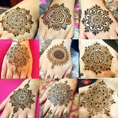 I miss doing the mandalas feel kinda lost with henna at the moment busy with life and other things. Looking forward to the holidays nothing but relaxing chilling and henna-ing Round Mehndi Design, Mehndi Designs Book, Latest Bridal Mehndi Designs, Indian Mehndi Designs, Full Hand Mehndi Designs, Mehndi Designs 2018, Mehndi Designs For Girls, Mehndi Design Photos, Wedding Mehndi Designs