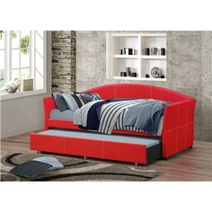 The Loft II Red Daybed