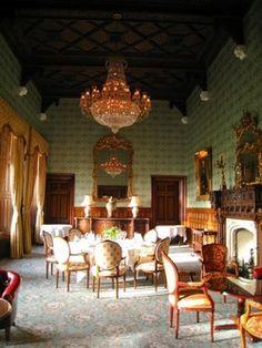 Ashford castle interior, Ireland