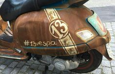Custom motocycles #customlook #13vespa #handmade #ratvespa