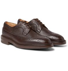 TRICKER'S — Fulton Full-Grain Leather Wingtip Brogues