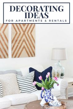 Beautiful Photo of Living Room Apartment Ideas Renting . Living Room Apartment Ideas Renting Apartment Decorating Ideas How To Decorate A Rental Like Its Your Own Renting Decorating, Decorating Ideas, Decor Ideas, Wall Ideas, Room Ideas, Home Design, Design Ideas, Decorate My Room, Lovely Apartments