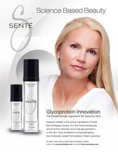 @Senté Dermal Repair Cream Combines Science + Beauty www.heydoyou.com