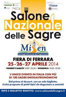 #MISEN - Salone Nazionale delle #Sagre - #Fiera di #Ferrara - 25-26-27 Aprile 2014