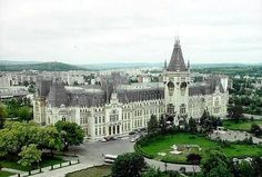 romania - Iasi - palace of culture Homeland, The Good Place, Palace, Beautiful Places, Country, World, House Styles, City, Travel