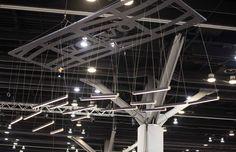 Retta - on display at IDS Vancouver 2017 Linear Lighting, Lighting Design, Light Architecture, Pendant Design, Vancouver, Bespoke, Chandelier, Ceiling Lights, Interiors
