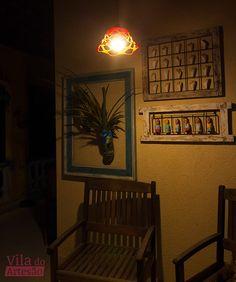 Tutorial Vila do Artesão - Luminária moderninha feita com uma fruteira feita de fruteira