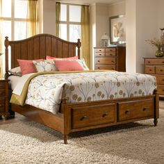 High Quality Hayden Place Panel Storage Bed By Broyhill Furniture King Storage Bed,  Under Bed Storage,