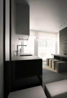 House in Warsaw    kitchen . Küche . cuisine   Architekt: Oporski Architektura  