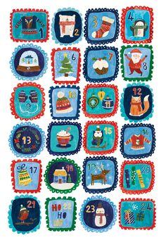2015 Advent countdown - Lisa Barlow (Milk & Honey)