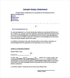 sample notarized letter documents word pdf templates free example format best free home design idea inspiration