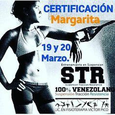 @Regrann from @mgtapurofitness -  #Eventos Margarita Certificación  STR Entrenamiento Funcional en Suspensión. Fecha 19 y 20 de Marzo. 16 Horas Académicas. Incluye  Sistema STR - Certificado Avalado por La Federación Venezolana de Fisioterapia y por CROSSTRAININGRF. Costo Bs. F. 25.000. Información: 0414-8198487. Envía dirección de correo electrónico y recibe todos los  así como contenido programático  y objetivos de la Certificación #str #suspensión  #crosstrainingrf #fisiotetapeuta…