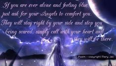 Angel Blessings and Poems with Beautiful Images - Mary Jac - Angel Quotes